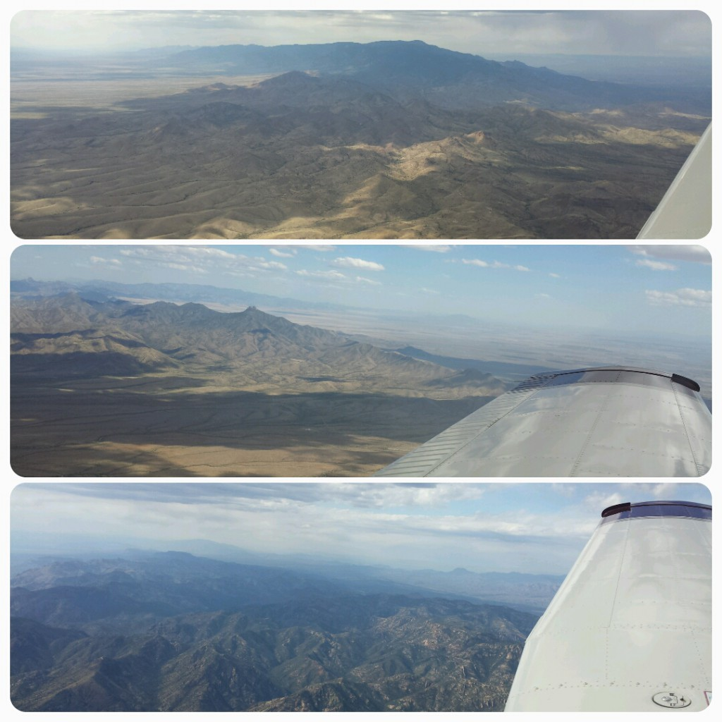 How about these gorgeous mountainous views! Nothing like seeing a 360-degree perspective from the air.