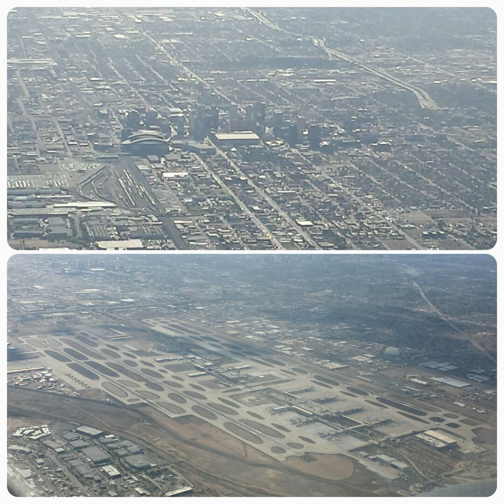 KPHX and downtown Phoenix