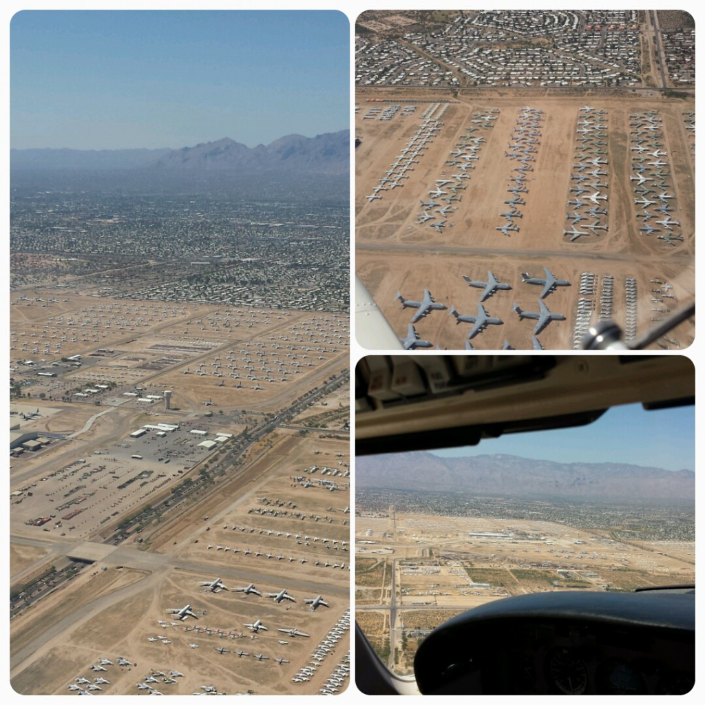 AMARG boneyard from the air